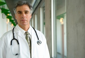 Chefarzt im Krankenhaus